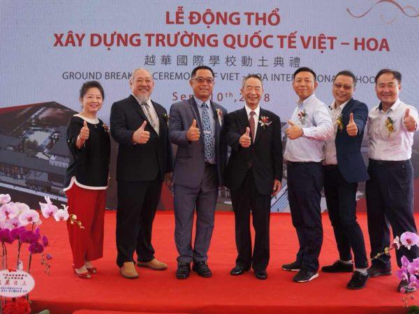 10092018 Khởi công xây dựng trường Quốc Tế Việt Hoa
