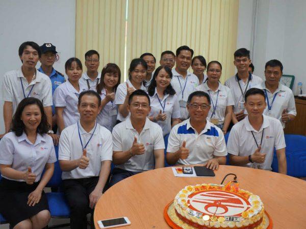 2019年10月7日恭喜今立公司成立23年